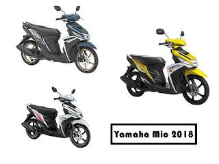 Harga Yamaha Mio 2018