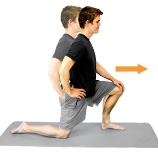 hip flexor stretch for knee pain