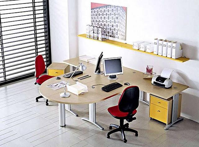 Desain Interior Kantor Kecil dan Mungil