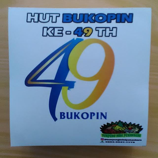 Stiker HUT Bukopin