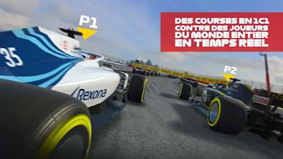 تحميل أخر إصدار لعبة السباقالفورمولاالرهيبة F1 Mobile Racing النسخة المجانية للأندرويد باخر تحديث