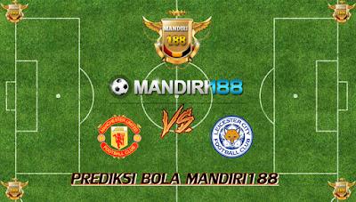 AGEN BOLA - Prediksi Manchester United vs Leicester City 26 Agustus 2017