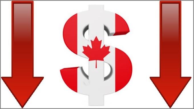 تراجع محتمل على الدولار الكندي تزامنا مع الناتج المحلي الإجمالي السنوي فى كندا