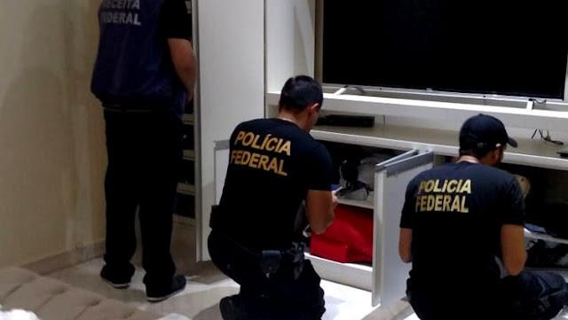 DRACMA: PF deflagra operação para combater lavagem de dinheiro do tráfico internacional