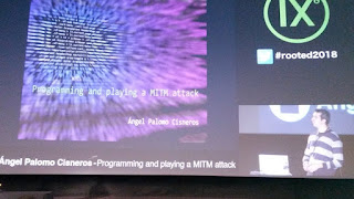 Ángel Palomo Cisneros - Programming and playing a MITM attack