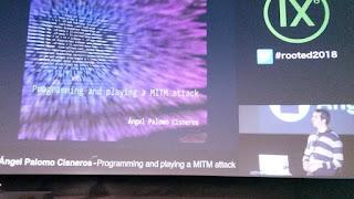Ángel Palomo Cisneros - Programming and playing a MITM attack