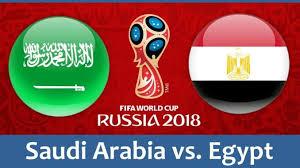 مباراة مصر والسعودية اليوم بث مباشر، Egypt vs Saudi Arabia الأثنين 25-6-2018 في كأس العالم