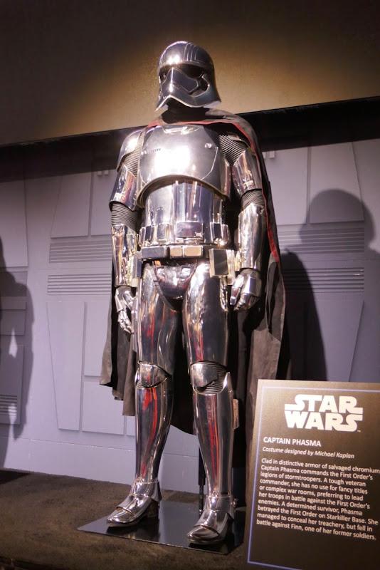 Star Wars Captain Phasma armour