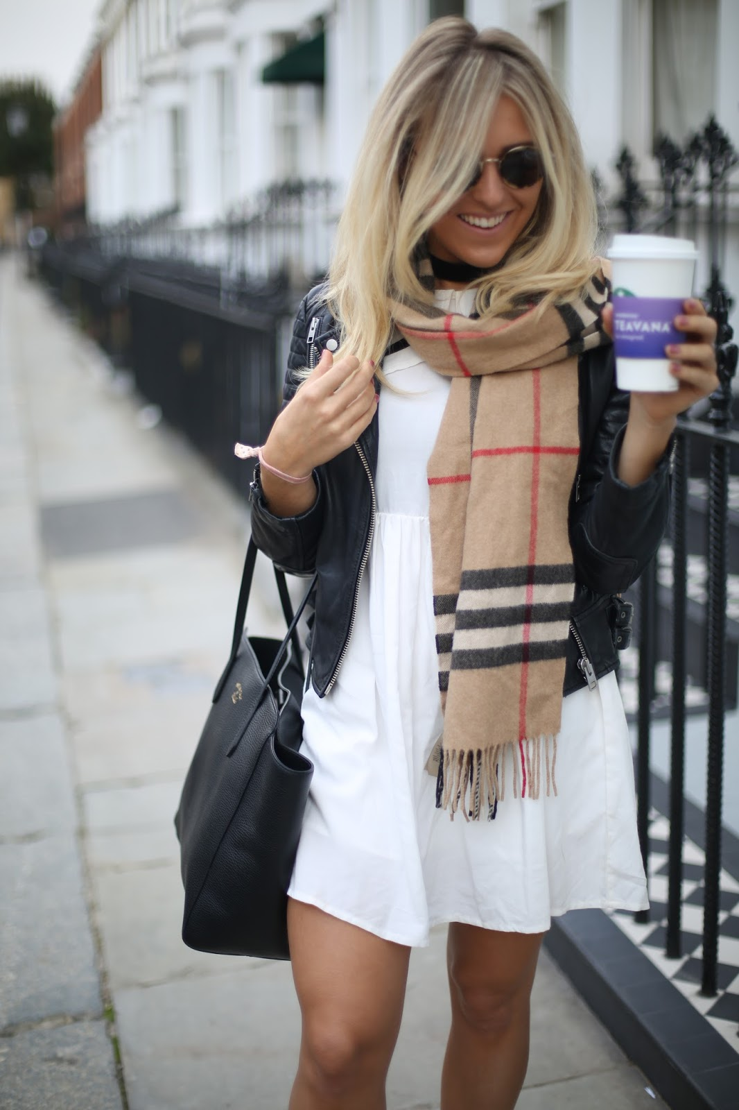 Burberry scarf check