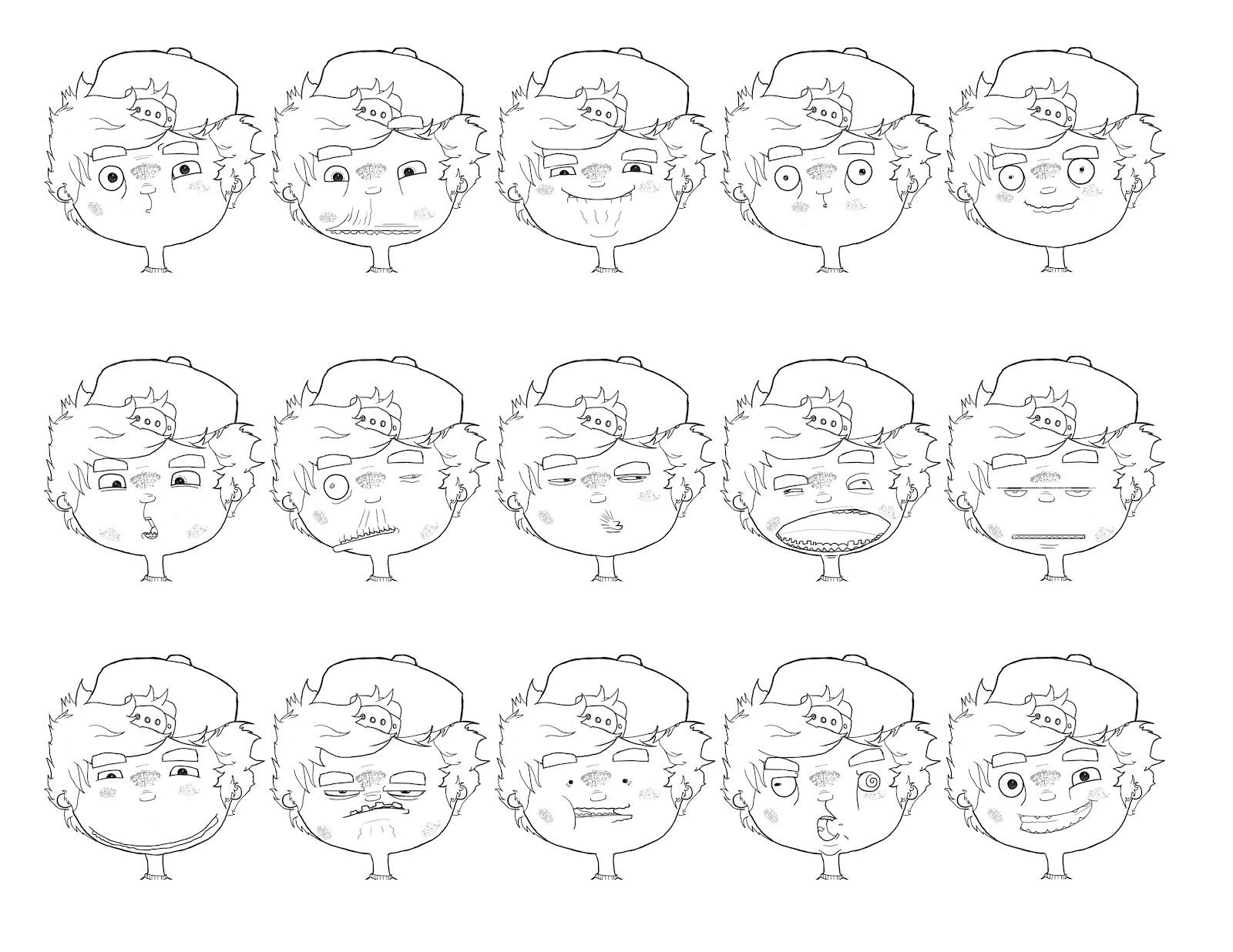 Reflections Pips Emotion Sheet