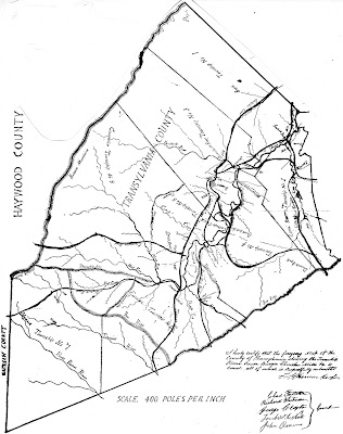 The Rowell Bosse North Carolina Room: Early Maps Depict