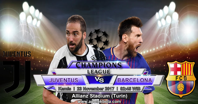 Juventus vs Barcelona 23 November 2017