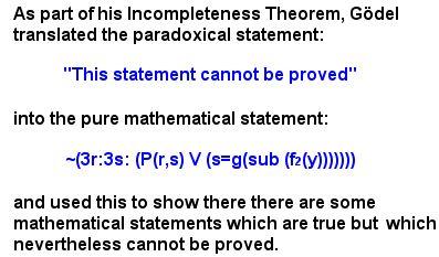 Godel Paradox