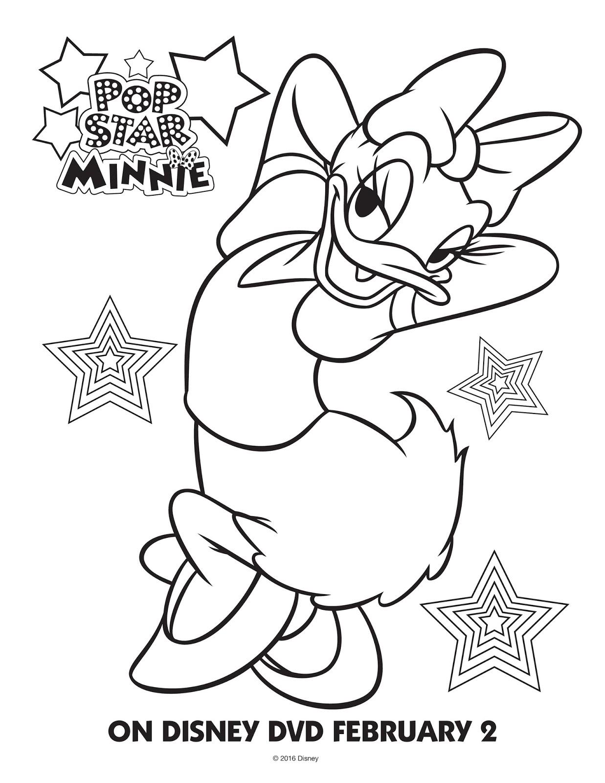 Disney Minnie Mouse ColoringActivity