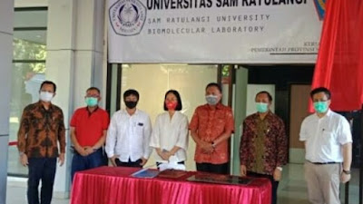Tangani Covid-19, Unsrat Berupaya Buat Hand Sanitizer Sendiri