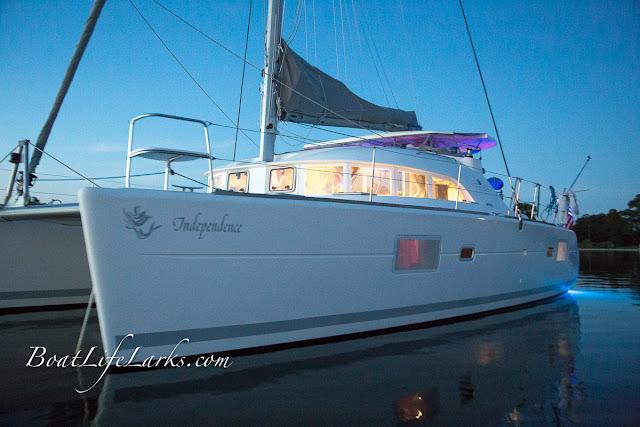 Lagoon 380 sail catamaran