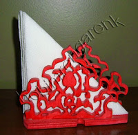 Wooden napkin