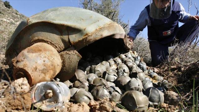 Senador de EEUU urge a seguir vendiendo bombas de racimo a Arabia Saudí