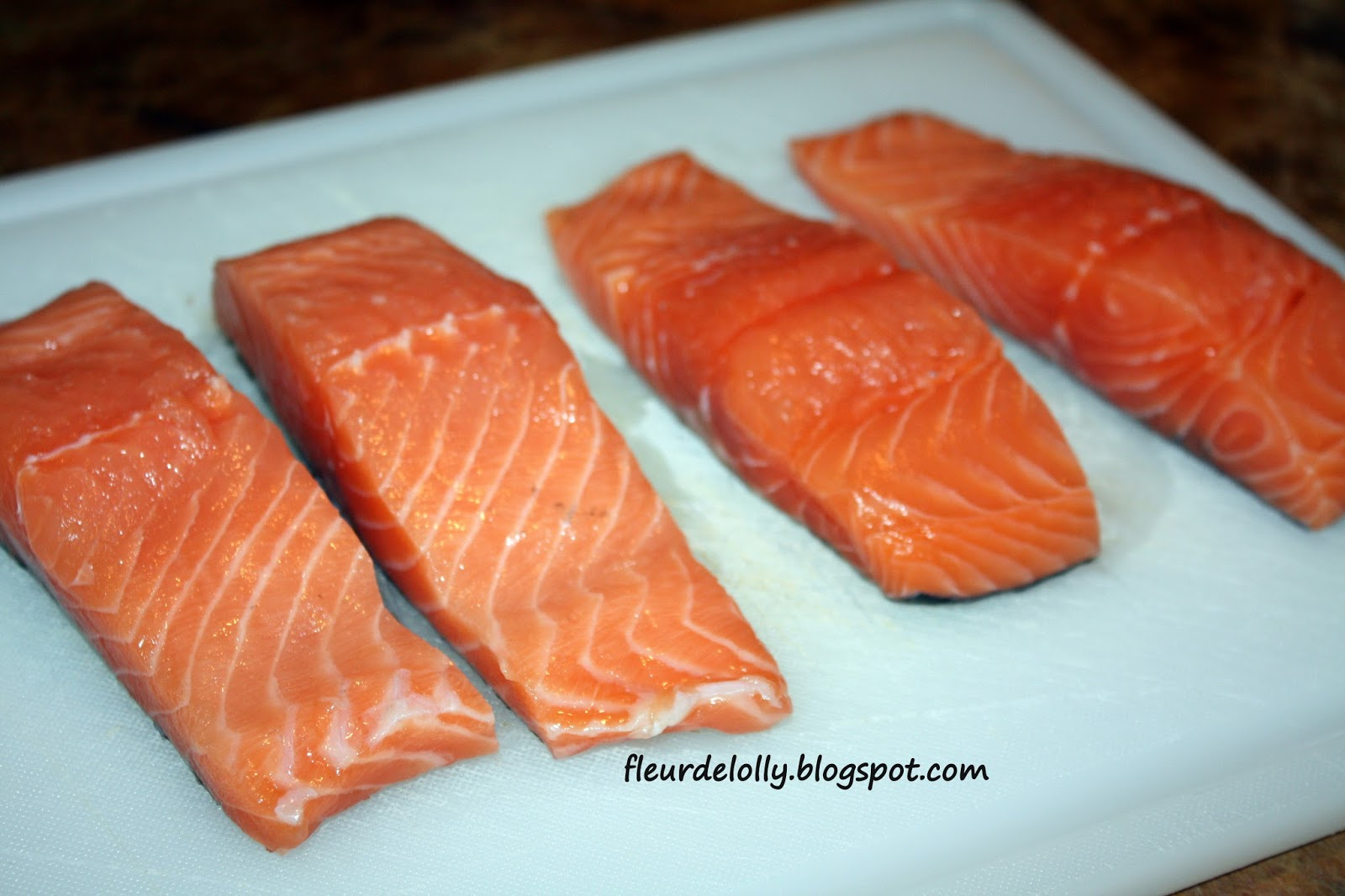 Let's Start With 1 Lb Fresh Salmon Fillets Preheat Oven