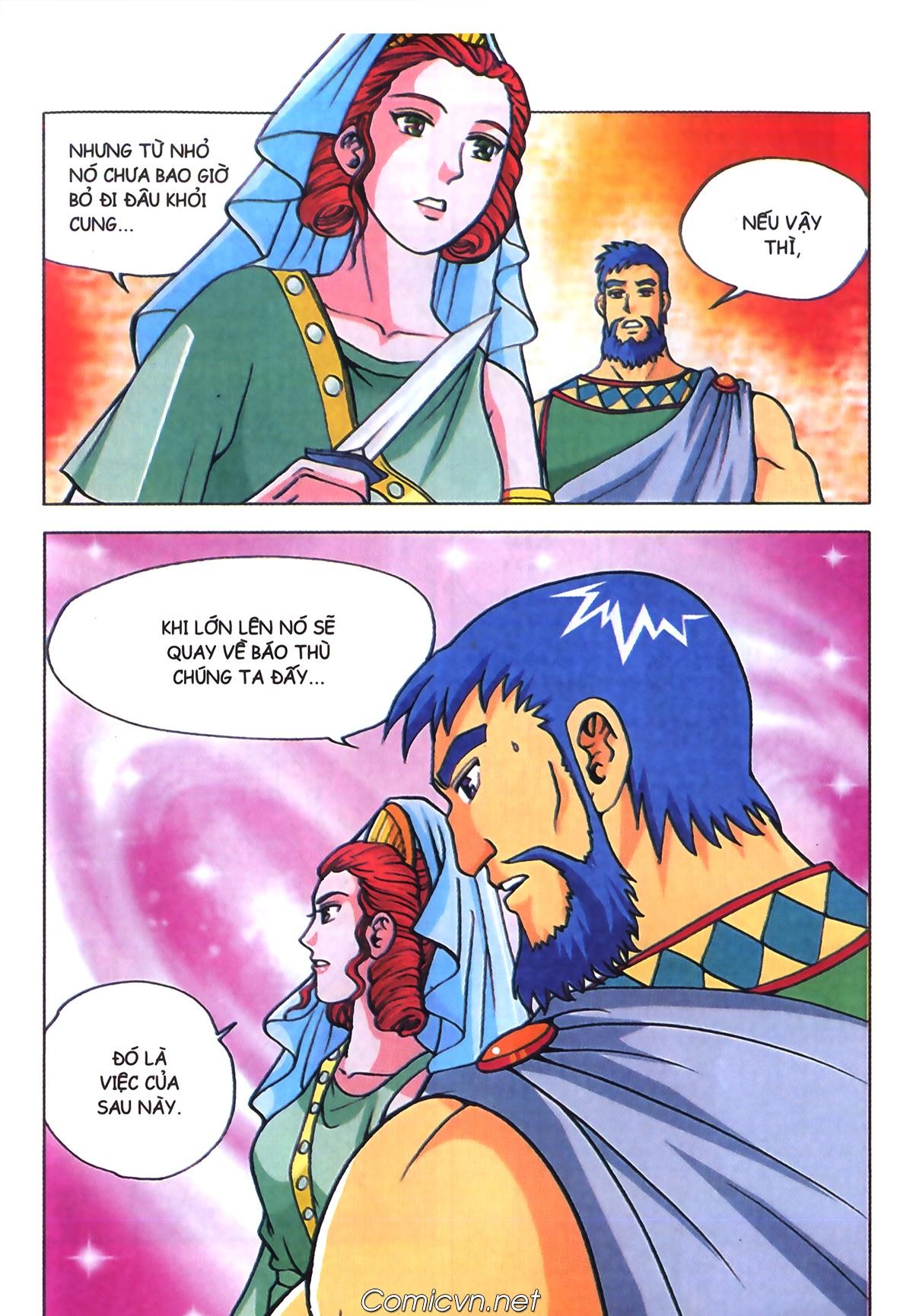Thần Thoại Hy Lạp Màu - Chapter 70: Nàng Ê lếch tơ - Pic 24