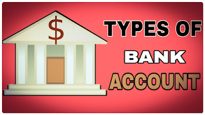 types of bank account