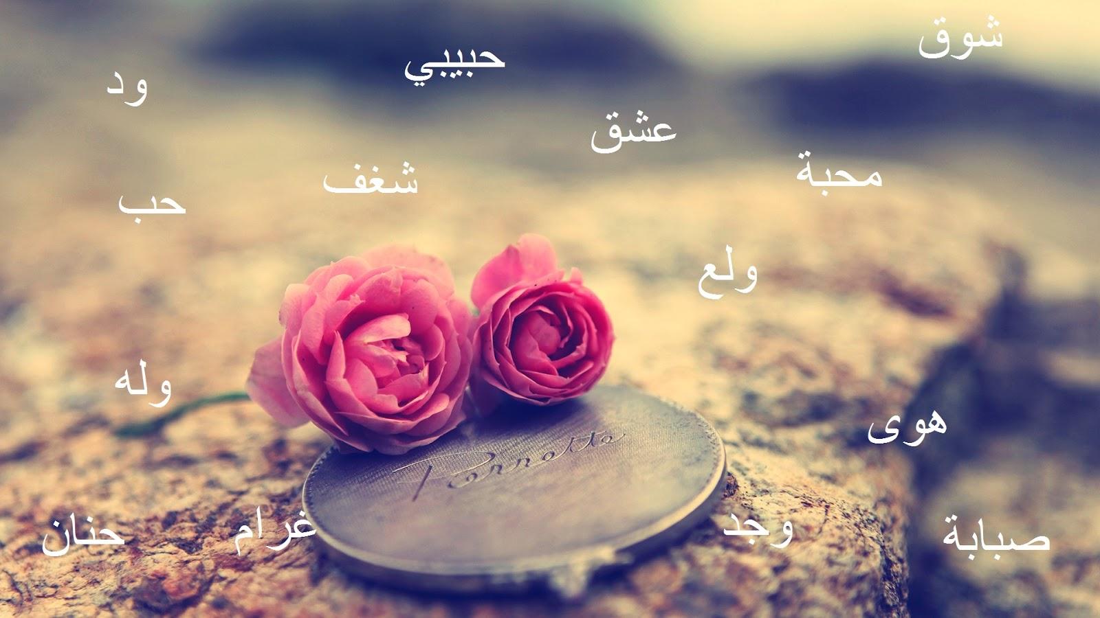 Estudos Da Língua E Cultura árabe Amor Em árabe As Várias
