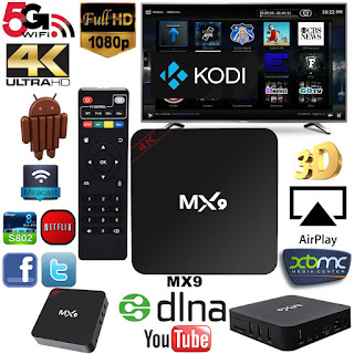 BOX TV 4K MX9