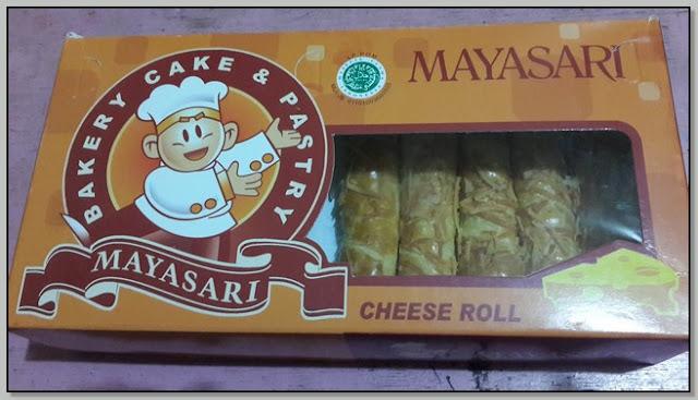 Kuliner Jajanan Nusantara - Kenikmatan Cheese Roll Mayasari