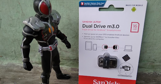Review Flash Disk Cantik Sandisk Double Drive m3.0