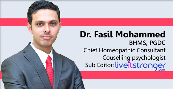 Consultant homeopathy doctor, Counselling psychologist