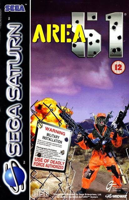 Area 51 ISO Sega Saturn