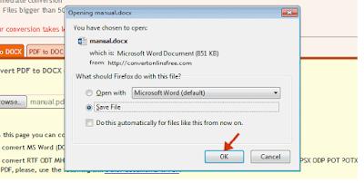 Convert File PDF Ke Word Dengan Web Convert Online Free