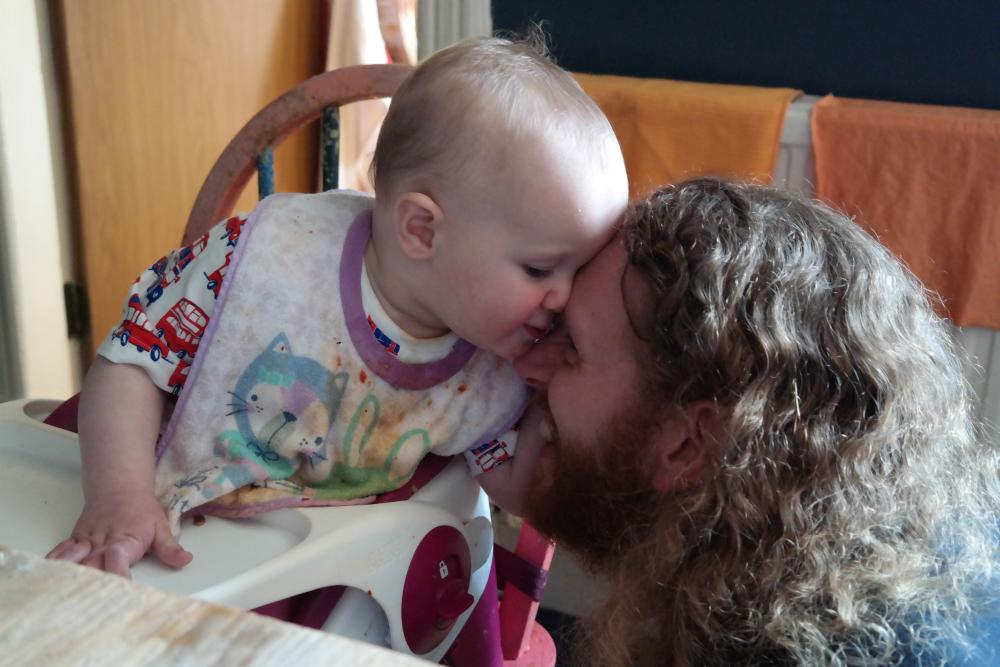 This Little Big Life: Steve and Matilda