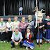 Las fiestas de Llano arrancan con una animada bajada de cuadrillas y el pregón de los jubilados