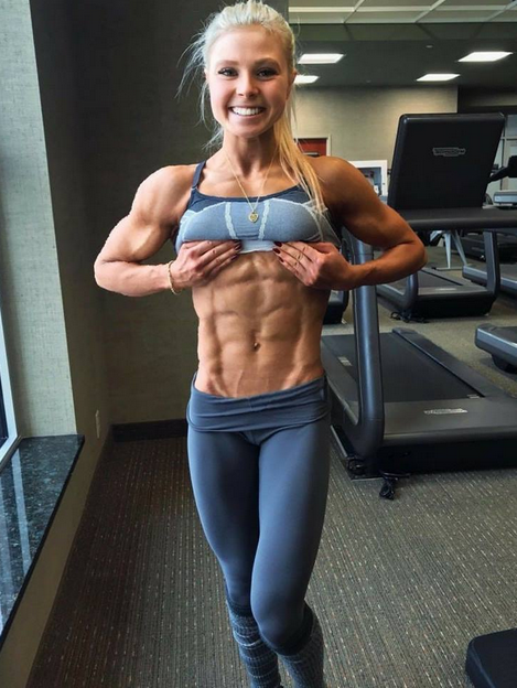 Female bodybuilders Less feminine, really ?