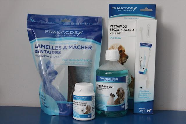 Higiena jamy ustnej psa z marką Francodex
