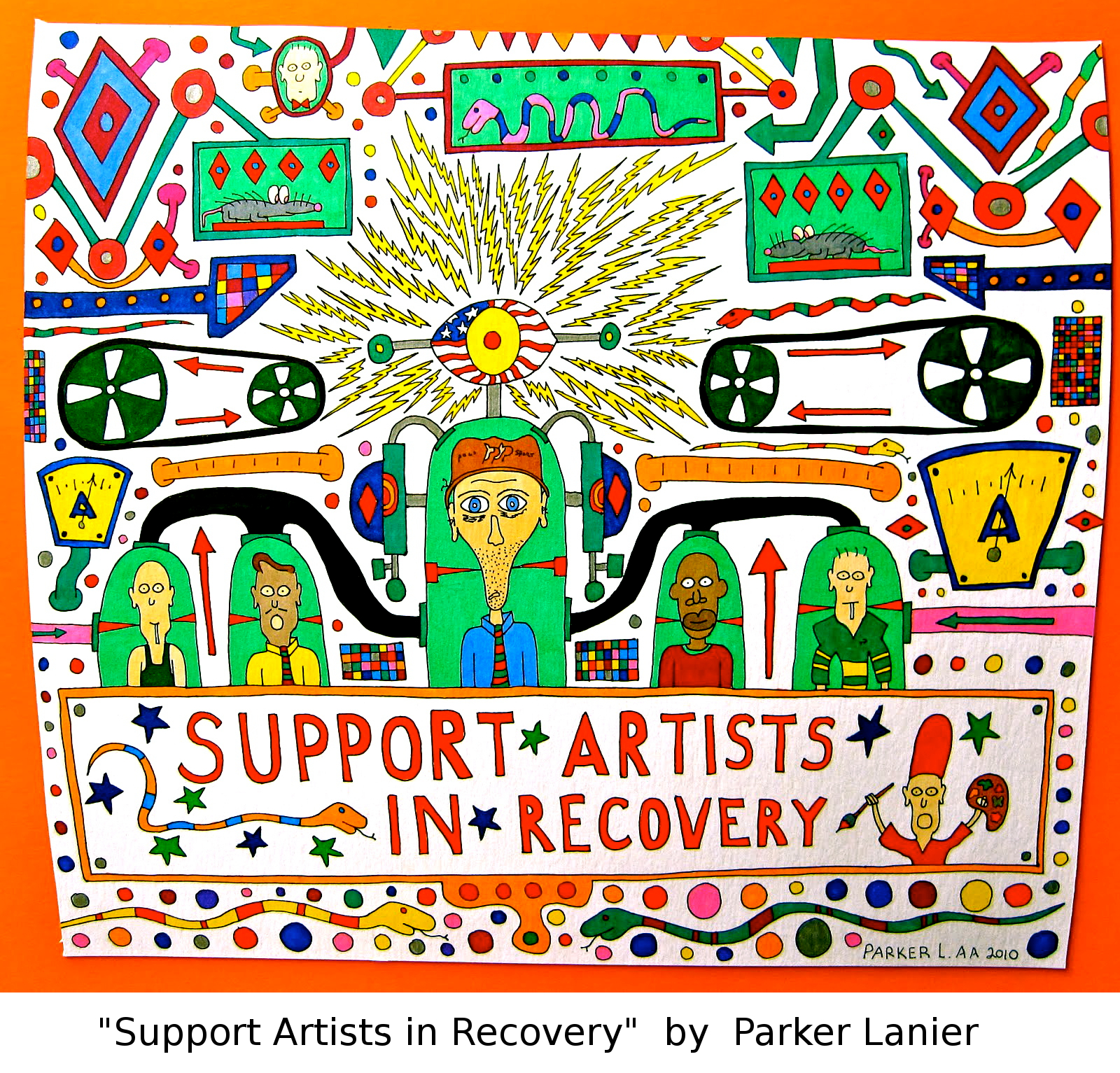 drug recovery art