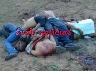 Dejan cinco cuerpos decapitados en Juan Rodriguez Clara Veracruz