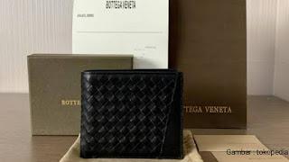 bottega veneta wallat Rekomendasi dompet kulit asli untuk pria