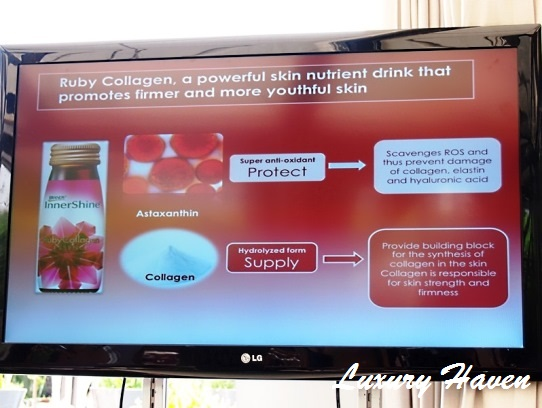 brands ruby collagen media event marina oriental
