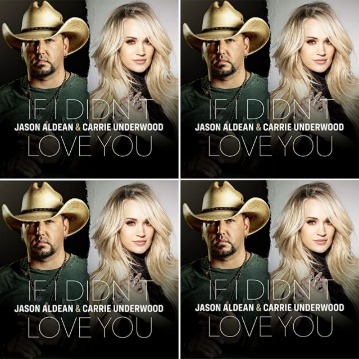 Jason Aldean x Carrie Underwood's Duet Song: IF I DIDN'T LOVE YOU - Streaming/MP3 Download - Chorus: If I didn't love you I'd be good by now..