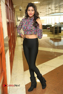 Actress Shalu Chourasiya Stills in Black Leggings at Marriage Needs Bridal Fashion Week 2017 Logo Launch  0076.JPG