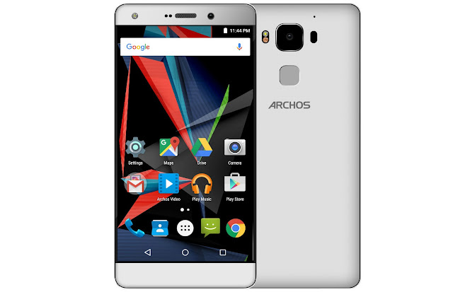 Archos Diamond 2 Plus With Fingerprint Sensor Has Announced