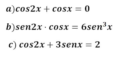 ecuaciones trigonometricas ejercicios resueltos