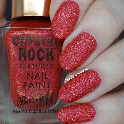 Barry M Crystal Rock Collection A/W 19 Red Jasper