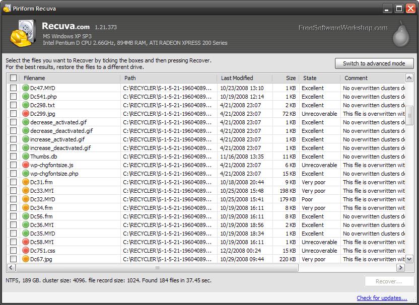 Download Recuva PRO Terbaru Full VersionRuang-Unduh   Free ...