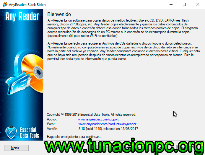 AnyReader Full Español con Licencia