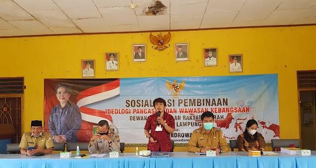 Anggota DPRD Lampung Amalkan Pancasila Dan Jaga NKRI