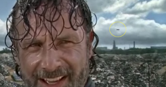 UFO Seen During The Walking Dead?