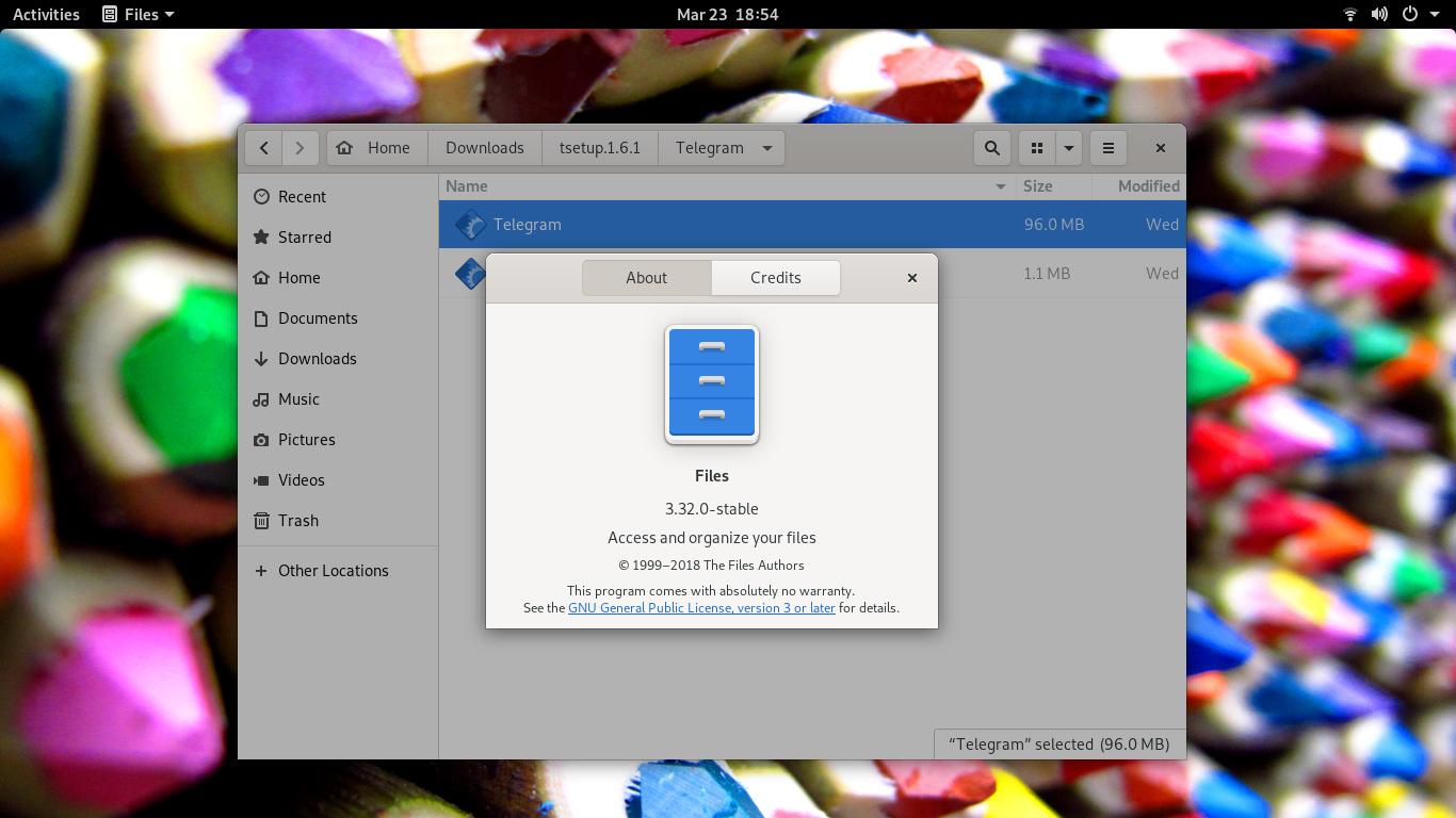 See GNOME 3 32 on Ubuntu 19 04 Beta